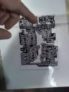 Изготовлю фотошаблон для производства печатных плат.