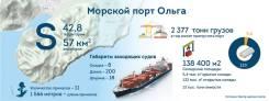Комплекс услуг морские перевозки порт Ольга