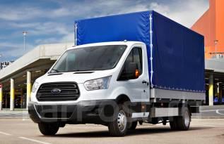 Ford Transit. бортовой с тентом, 2 200куб. см., 990кг., 4x2