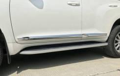 Накладка на боковую дверь. Toyota Land Cruiser Prado, GDJ150, GDJ150L, GDJ150W, GDJ151W, GRJ150, GRJ150L, GRJ150W, GRJ151W, KDJ150, KDJ150L, LJ150, TR...