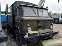 ГАЗ 66. Армейский фургон - кунг , 4x4