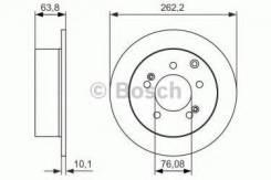 Тормозной диск Bosch 0986479061 Hyundai / Kia (Mobis): 584112K300 BD1640 Kia Cerato Ii (Td). Kia Cerato Ii Седан (Td). Kia Cerato Koup (Td). Kia