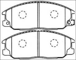 Колодки передние Akyoto AKD-1300 Hyundai / Kia (Mobis): 581013EE00 581013EE01