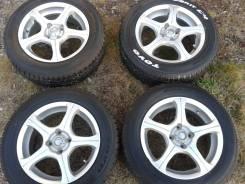 Продам колеса: шины 175/65/15R с литыми дисками 15-6j, 4шт. 4x100.00 ET48 ЦО 73,3мм.