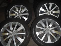 "Продам летние колеса 215/60-16 Practiva Japan на литых дисках Mazda. 6.5x16"" 5x114.30 ET52.2 ЦО 68,0мм."