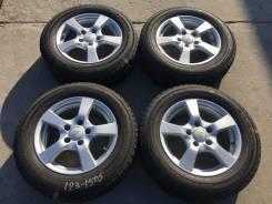 """195/65 R15 Yokohama IG50 литые диски 5х114.3 (L23-1505). 6.0x15"""" 5x114.30 ET37 ЦО 67,1мм."""