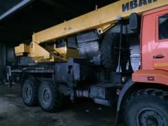 Ивановец КС-35714К2-10. Продаётся автокран 25 тонн, 300куб. см., 25 000кг., 21,50м.
