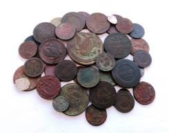 Подборка монет от Грозного до Николая II-37 шт Есть Редкие! Серебро!