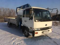 Nissan Diesel Condor. Продам грузовик с манипулятором Nissan Condor, 9 200куб. см., 5 000кг., 4x2