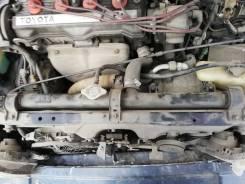 Радиатор охлаждения двигателя. Toyota Sprinter Carib, AE95, AE95G Двигатель 4AFE