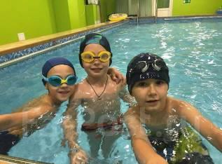 Плавание для детей от 4 до 14 лет, спортивное и синхронное плавание