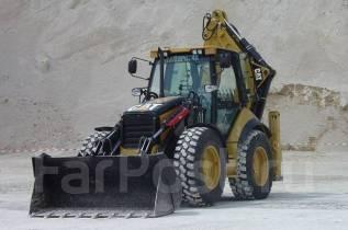 Caterpillar 444F. Экскаватор-Погрузчик CAT 444F, 4 400куб. см.