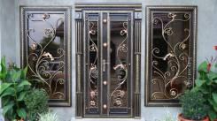 Изготовление ворот, дверей, решеток, перилл и других кованных изделий
