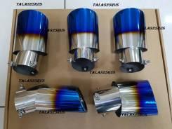 Насадка на глушитель. Nissan Note, E12, NE12 Двигатели: HR12DDR, HR12DE, HR16DE