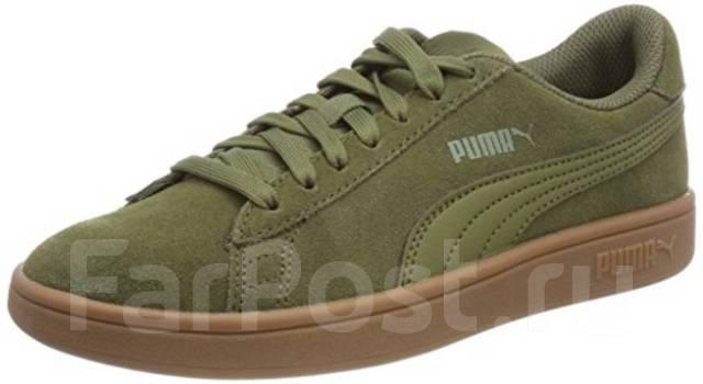 Фирменные Замшевые Кроссовки Puma Smash V2 364989 12 - Обувь во ... 58beb2a7638