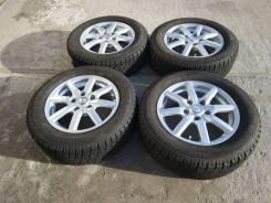 """Комплект литых колес 195/65R-15 c зимней резиной 2010г. 6.0x15"""" 5x114.30 ET43 ЦО 73,0мм."""