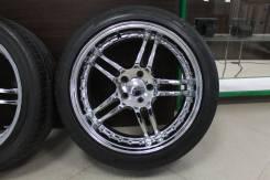 """Литые диски RUFF Rasing с Резиной Michelin. 8.5x19"""" 5x114.30 ET35 ЦО 70,0мм."""