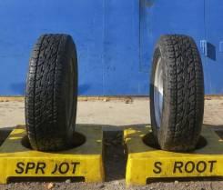 Bridgestone Dueler A/T 697. Грязь AT, 2011 год, 10%, 2 шт
