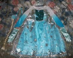 Прокат новогоднего костюма Эльзы