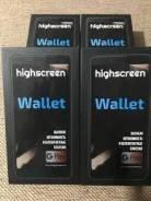 Highscreen Wallet. Новый, 16 Гб, Черный, 3G, 4G LTE, Dual-SIM, NFC