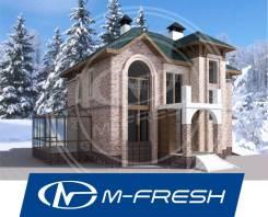 M-fresh Apollon (Проект просторного дома с зимним садом и гаражом! ). 300-400 кв. м., 2 этажа, 5 комнат, бетон