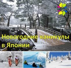 Япония. Йонаго. Горнолыжный тур. Новогодние каникулы в Японии! Лыжи и источники!