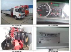 Hino Ranger. Продается грузовик с манипулятором , 7 684куб. см., 5 000кг., 4x2