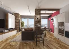 1-комнатная, улица Отлогая 10. Первая речка, проверенное агентство, 37кв.м. Дизайн-проект