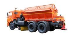 Завод ДМ. Комбинированная дорожная машина ЭД405Б на базе шасси Камаз 65115 – 6х4, 11 500куб. см.