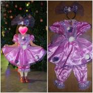 Прокат новогоднего костюма куклы
