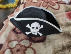Пиратская шляпа деформированная