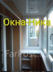 Пластиковые окна, двери, перегородки, балконы, лоджии, отделка рассрочка 0%