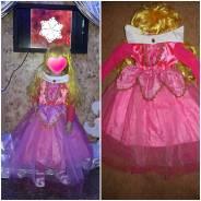 Прокат новогоднего костюма принцессы Авроры