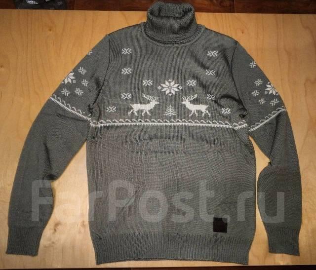 e4765a3a468 Тёплый новогодний свитер с оленями - Основная одежда во Владивостоке