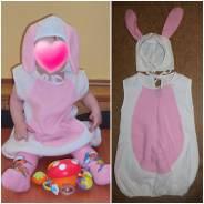 Прокат новогоднего костюма зайчика на малыша