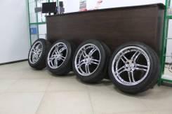 "Литые диски RUFF Rasing с Резиной Michelin 245/45 R19. 8.5x19"" 5x114.30 ET35 ЦО 70,0мм."