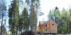 Участок ИЖС + дом из сруба. 700кв.м., собственность, электричество, вода, от частного лица (собственник)