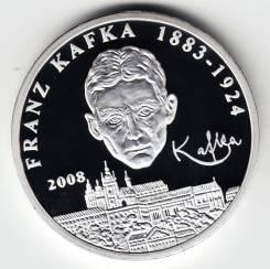 "Германия медаль 2008 ""Франц Кафка"" Серебро"