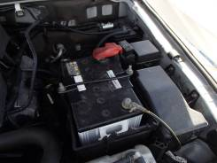 Крепление аккумулятора. Mitsubishi Pajero, V83W, V85W, V86W, V87W, V88V, V88W, V93W, V95W, V96W, V97W, V98V, V98W Mitsubishi Montero, V83W, V85W, V86W...