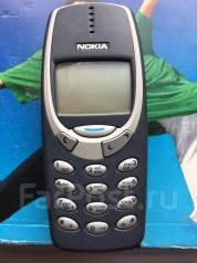 Nokia 3310. Б/у, Синий, Кнопочный