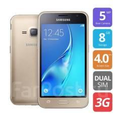 Samsung Galaxy J1 Mini. Новый, 8 Гб, Золотой, 3G, Dual-SIM