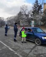 Инспектор ДПС. ОГИБДД по г. Партизанску. Улица Ленинская 27а