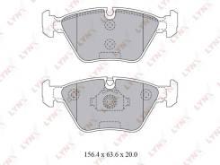 Колодки тормозные дисковые, LYNXAUTO BD1427