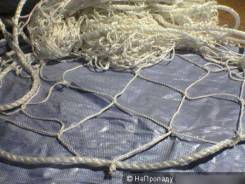 Вязание и ремонт рыбацких сетей и оханов
