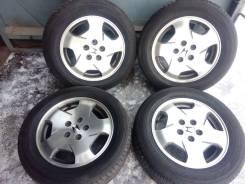 """Летние шины Гудиер 215/60 R16 на литье Хонда 5/114. 6.5x16"""" 5x114.30 ET55"""