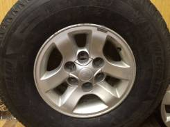 "Колеса Michelin 265/70r16 диски Toyota 6Х139.70. x15"" 6x139.70"