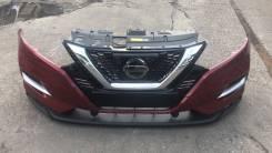 Бампер. Nissan Qashqai, J11 Двигатели: H5FT, HR12DDT, HRA2, K9K, MR16DDT, MR20DD, R9M