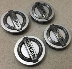 "Колпачки на литые диски Nissan. Диаметр 4"""", 1шт"