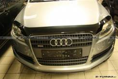 Дефлектор капота. Audi Q7, 4LB Двигатели: BAR, BHK, BTR, BUG. Под заказ
