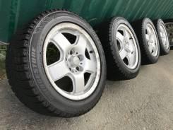 """Широкие диски R16 8J +35 5*114.3+Жирная зима Bridgestone 225/50/16. 8.0x16"""" 5x114.30 ET35 ЦО 73,0мм."""